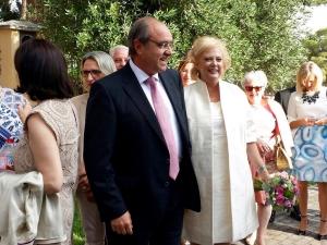 Vestido novia bodas de plata