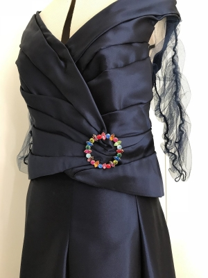 20170801_Vestido drapeado invitada boda10