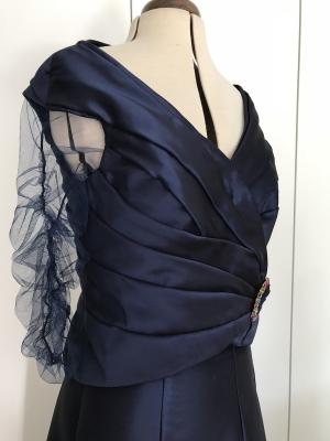 20170801_Vestido drapeado invitada boda11