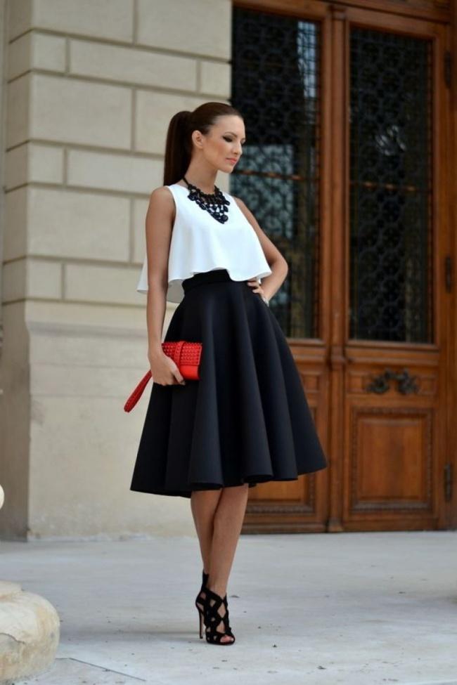falda negra 1